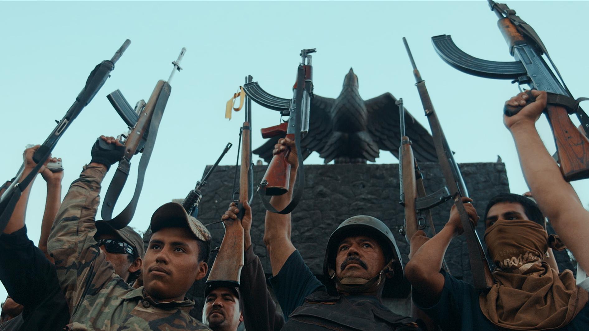 #6 - Autodefensa members in Michoacán, Mexico, from CARTEL LAND, a film by Matthew Heineman.jpg