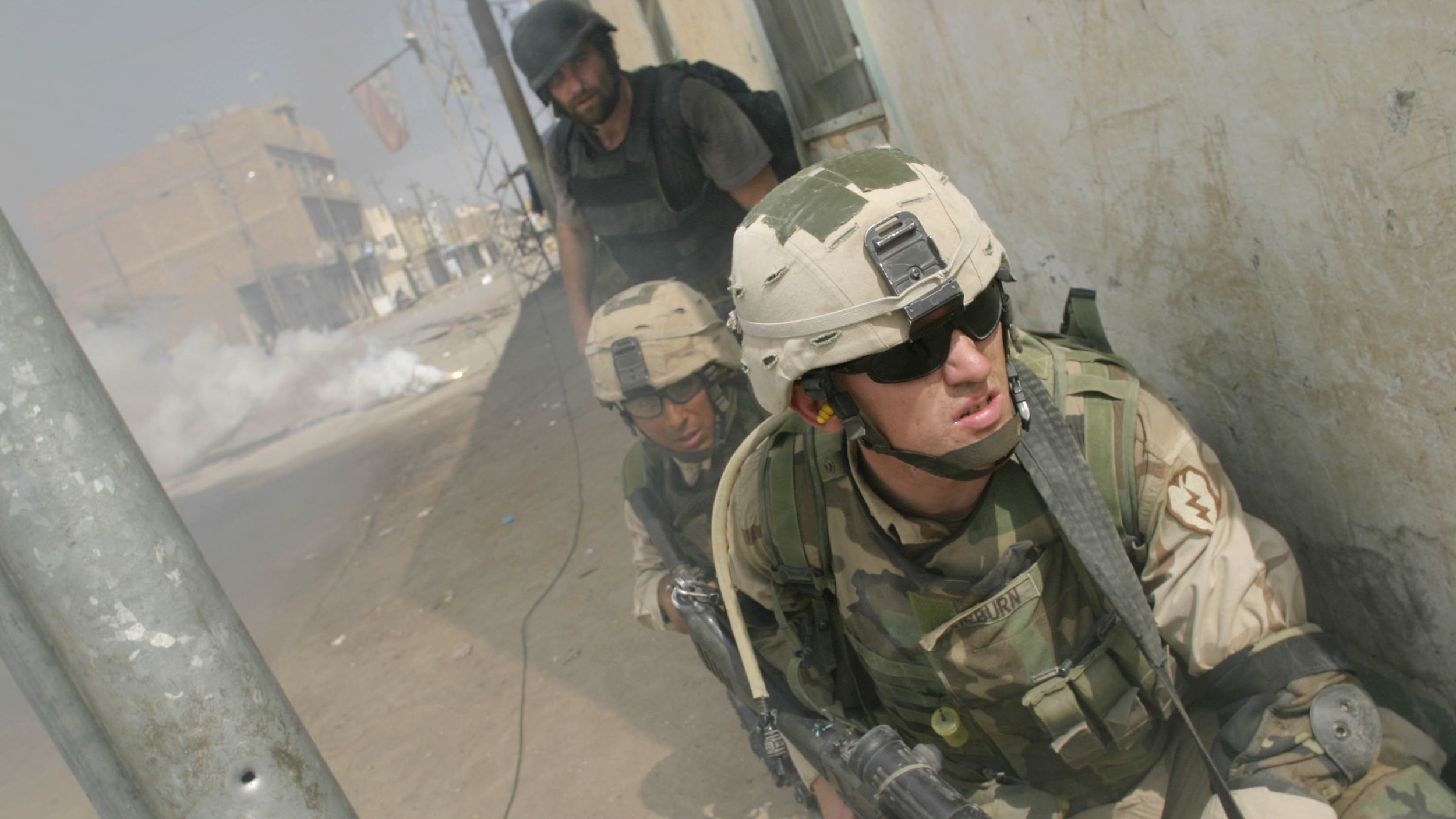 Only The Dead 00 - Credit Max Becherer _ Polaris_Michael Ware with U.S. Troops.jpg