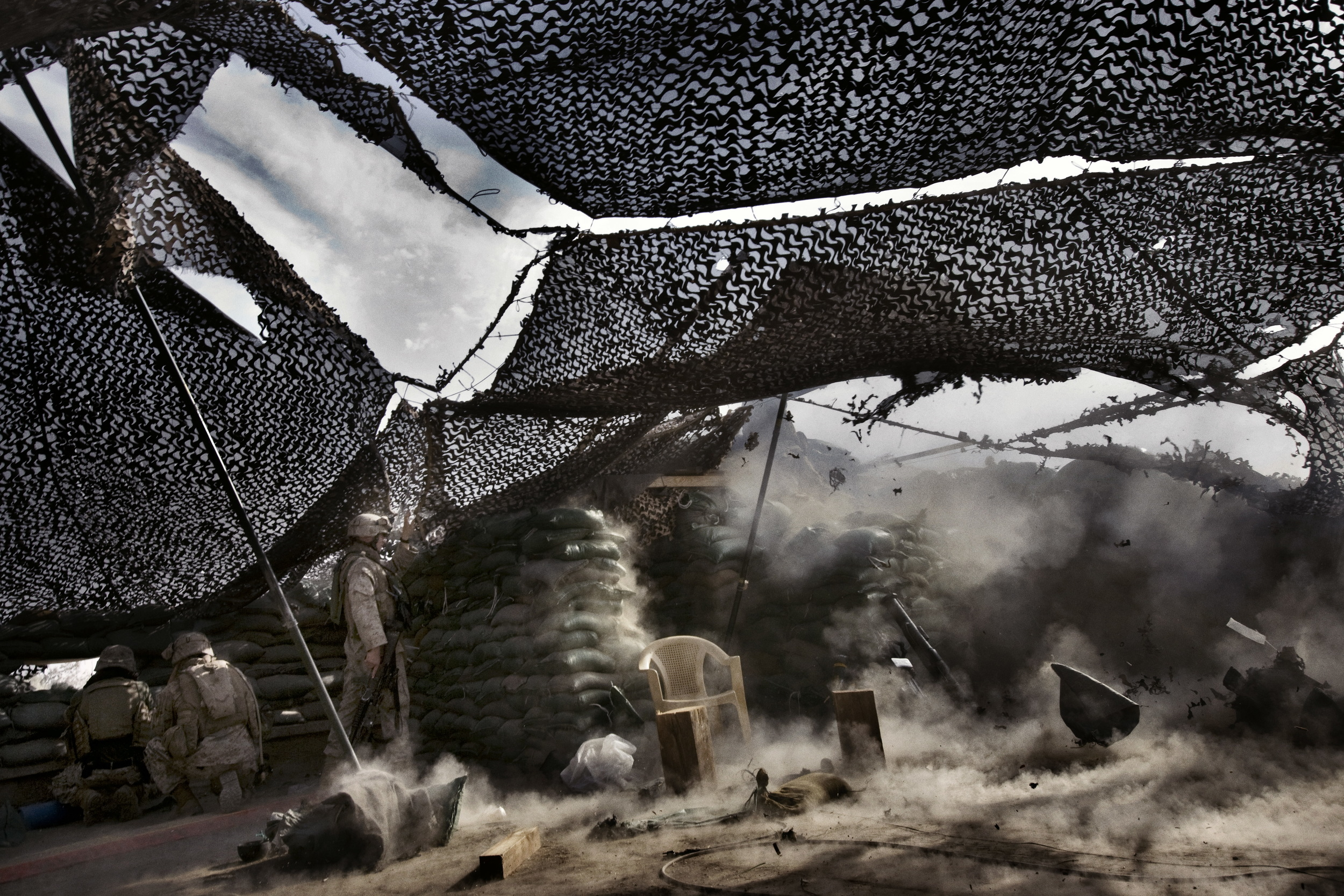 Only The Dead 18 - Credit Yuri Kosyrev _ Noor Images_Action in Ramadi.jpg