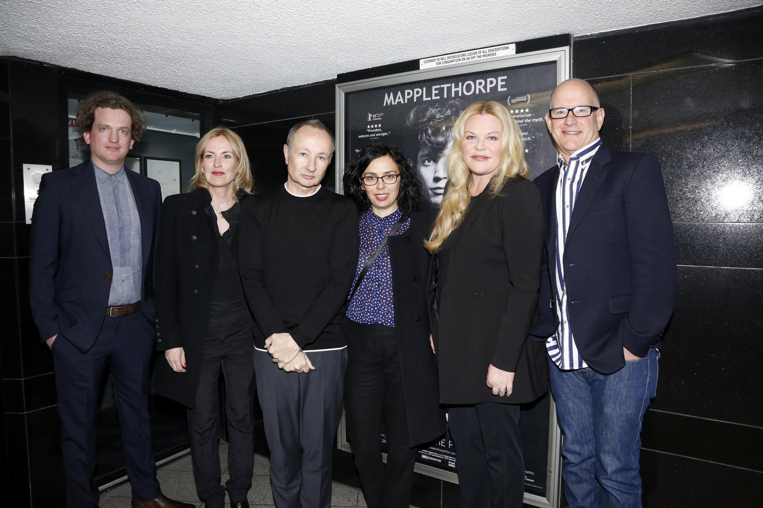 Oli Harbottle, Kathrin Lohman, Fenton Bailey, Vesna Cudic, Katharina Otto-Bernstein and Randy Barbato