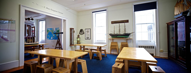 The Maurice K. Shaw Navigation Classroom