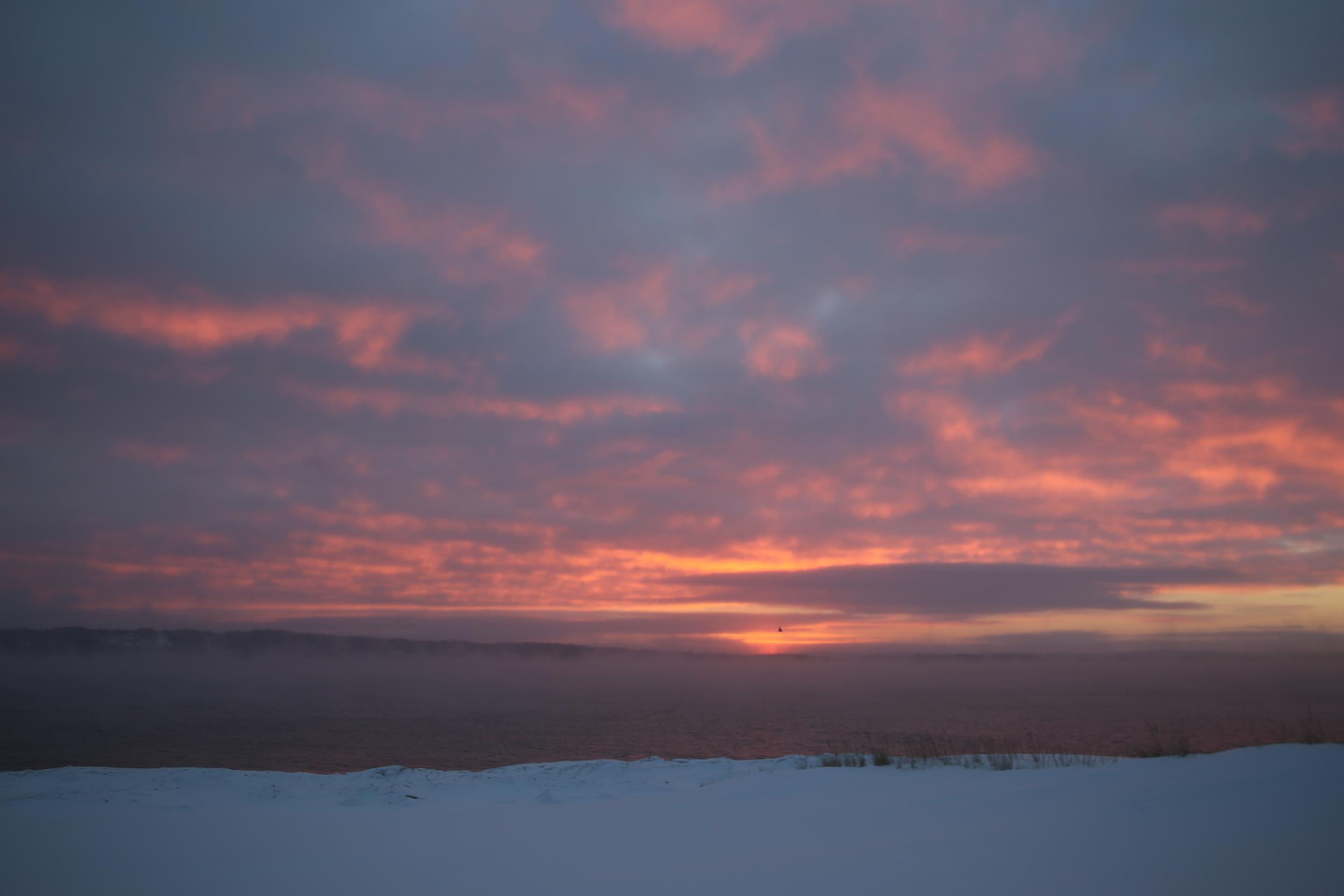 Frozen Skyline
