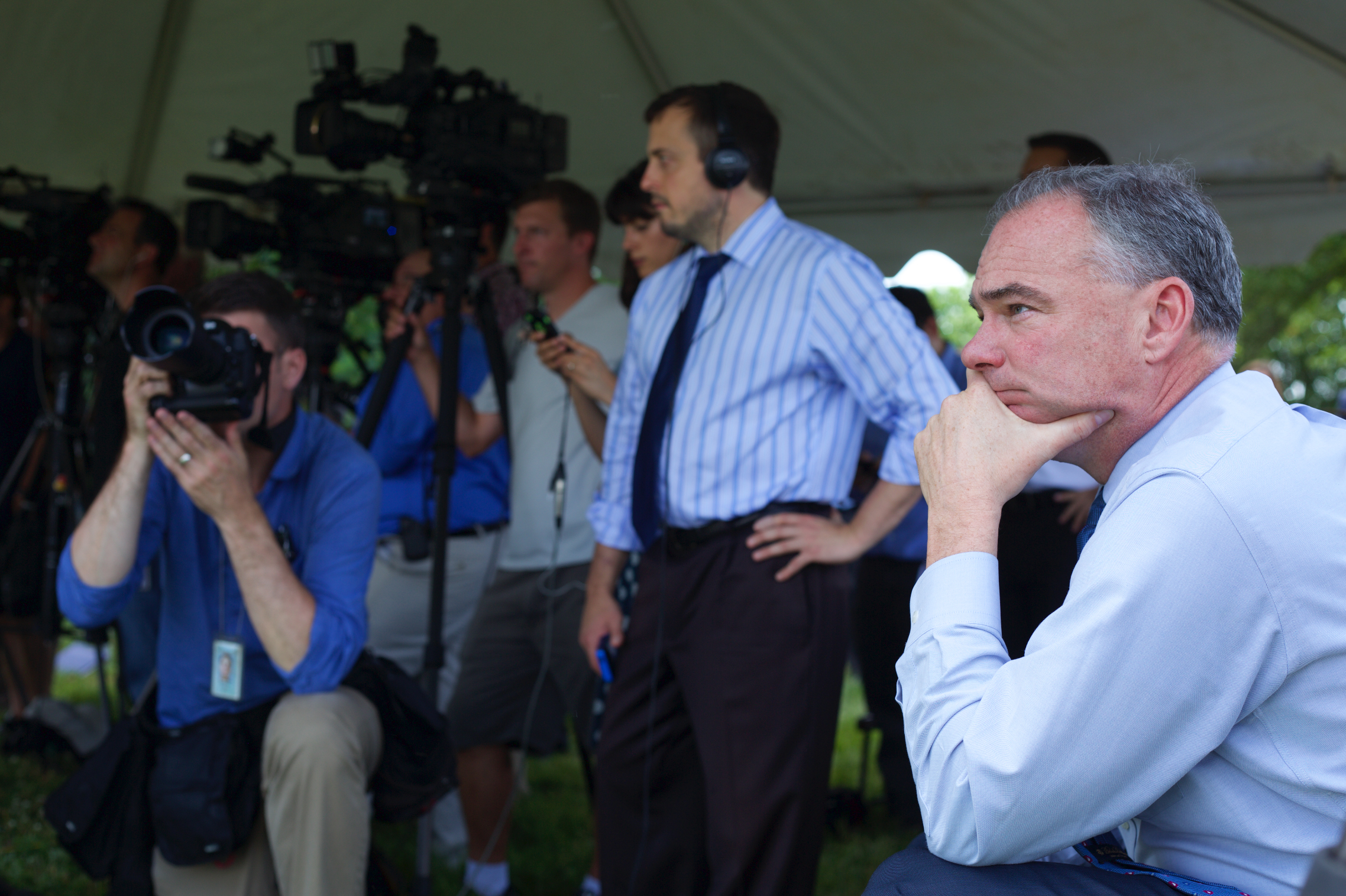 Senator Tim Kaine, Listening
