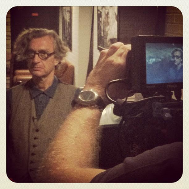 Wim Wenders Interview