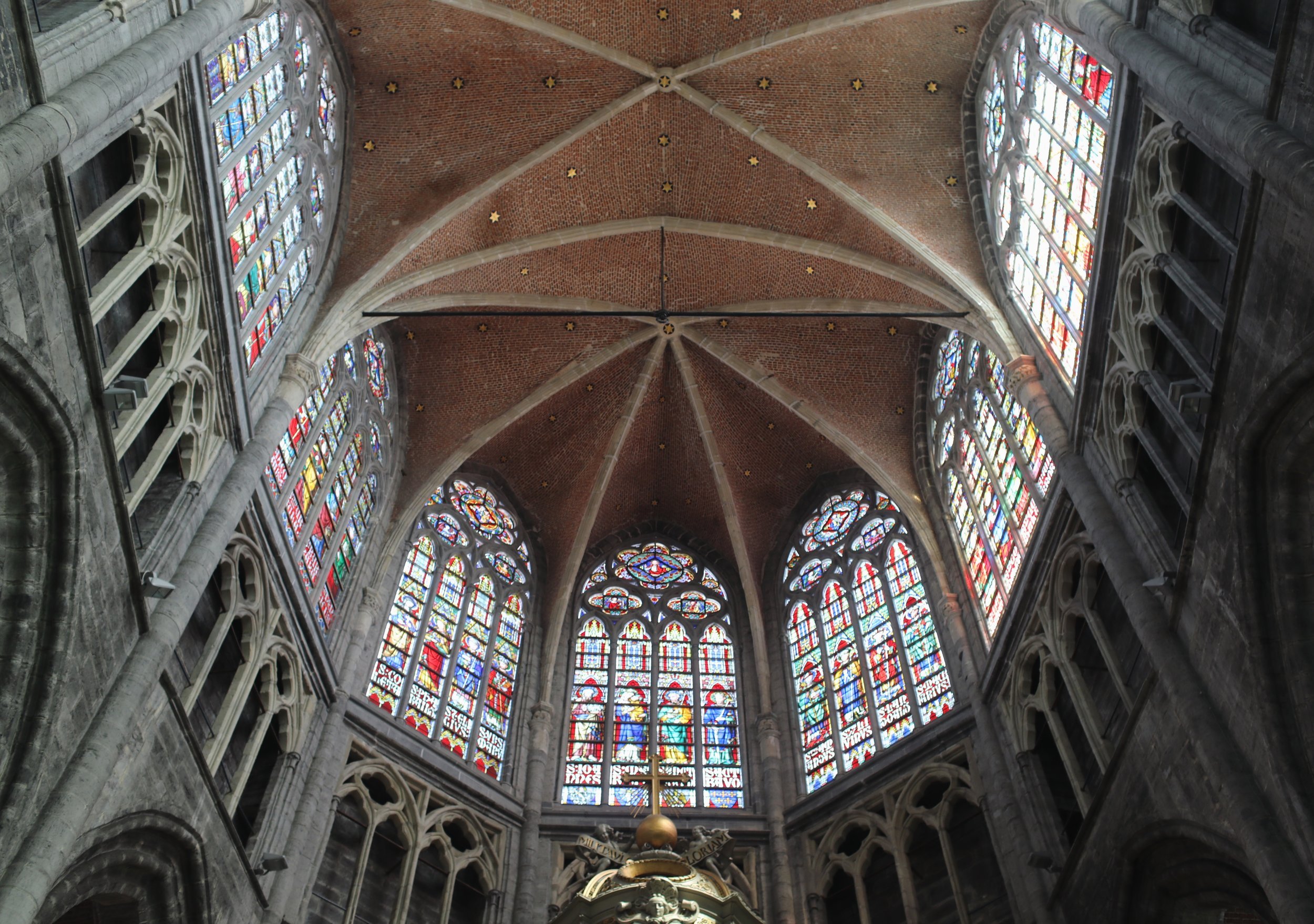 Sint-Baafs Cathedral, Ghent, Belgium    Canon 5d Mark IV