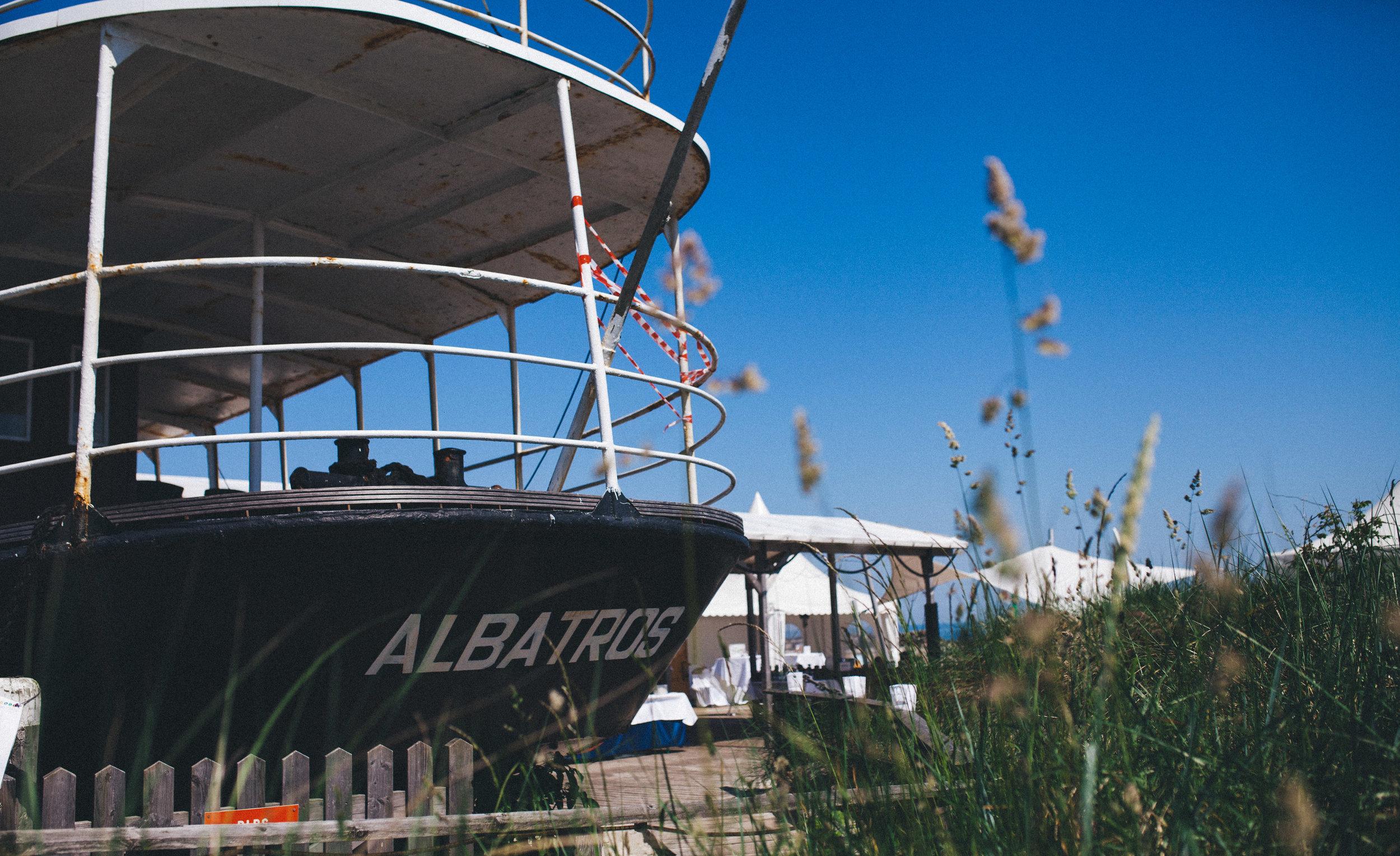Strandterrasse Albatros - im Ostseebad Damp