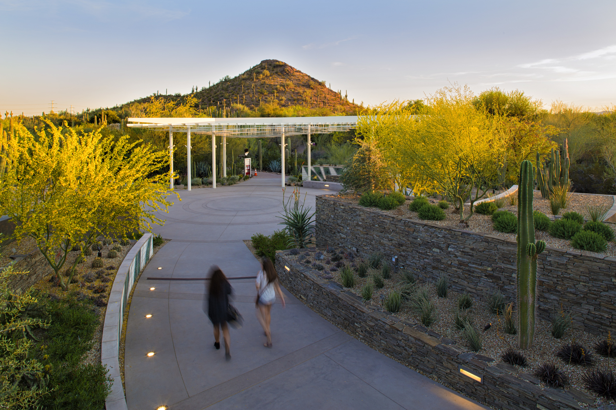 Desert Portal and Terrace Garden