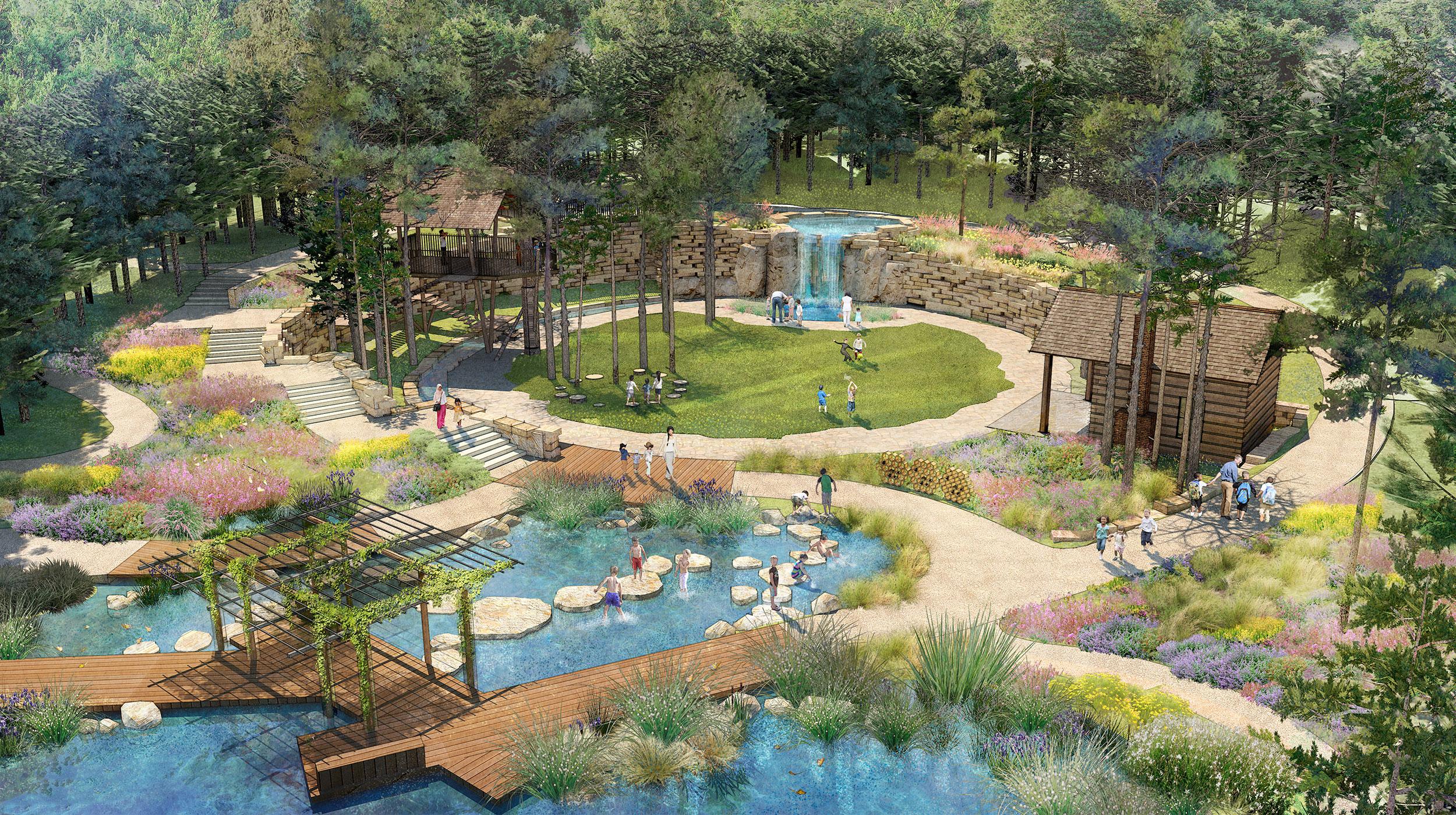 Children's Secret Adventure Garden at Columbus Botanical Garden