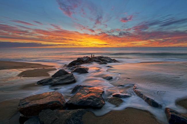 Sunrise at Rehoboth Beach