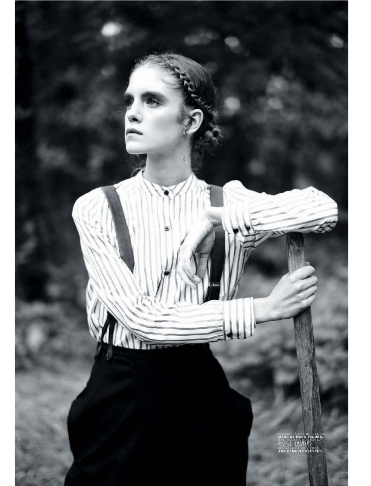 Jalouse Magazine shot by Mathieu Cesar styled by Simon Pylyser and me