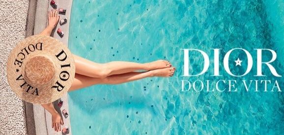 "Dior ""Dolce Vita""campaign shot by Arnaud Pyvka"