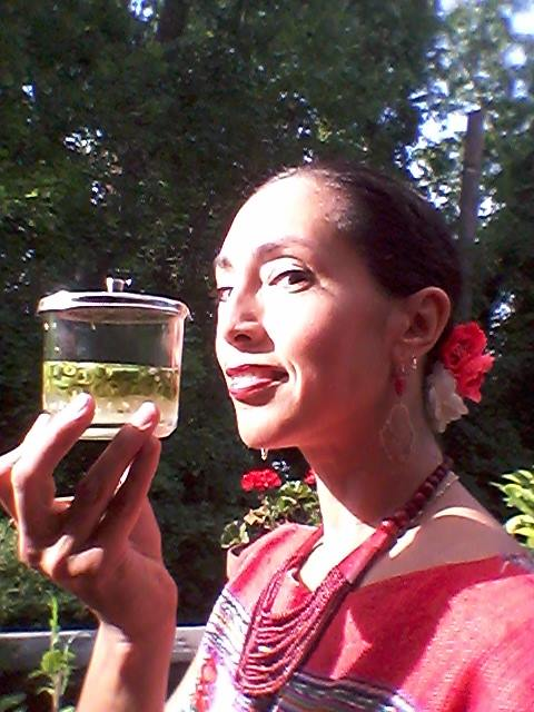 Fresh chilies in lime or vinegar called Ni Pek ( literally Dog's nose in Yucatec Mayan) from the garden