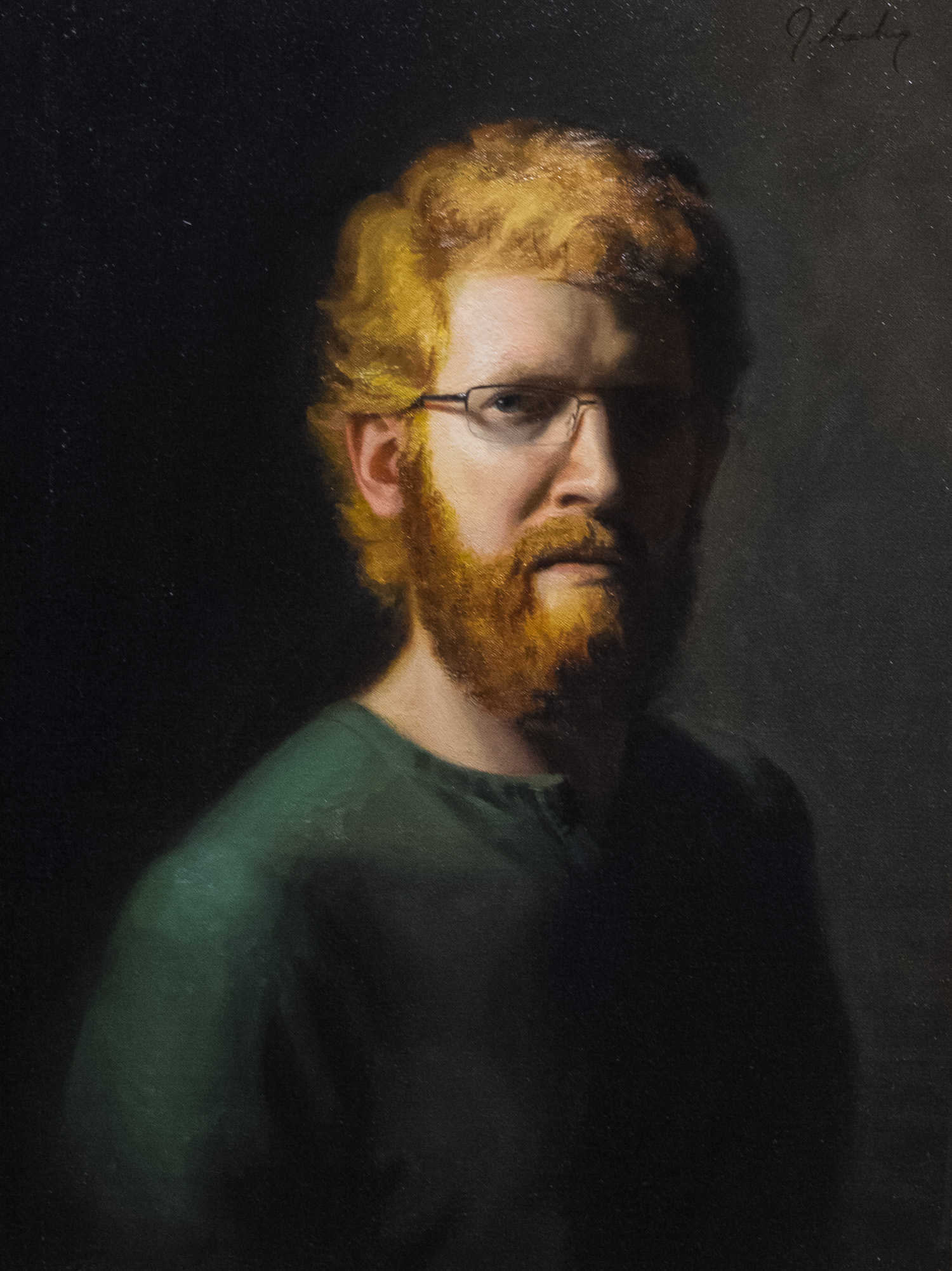 Joshua Granberg - Self Portrait - 18x24 inches