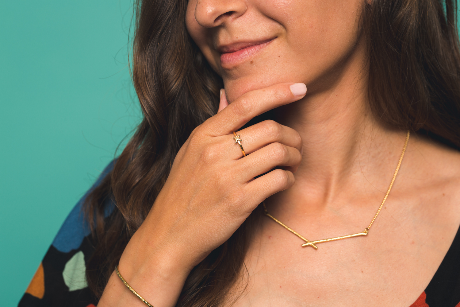 Era necklace + intersect Ring