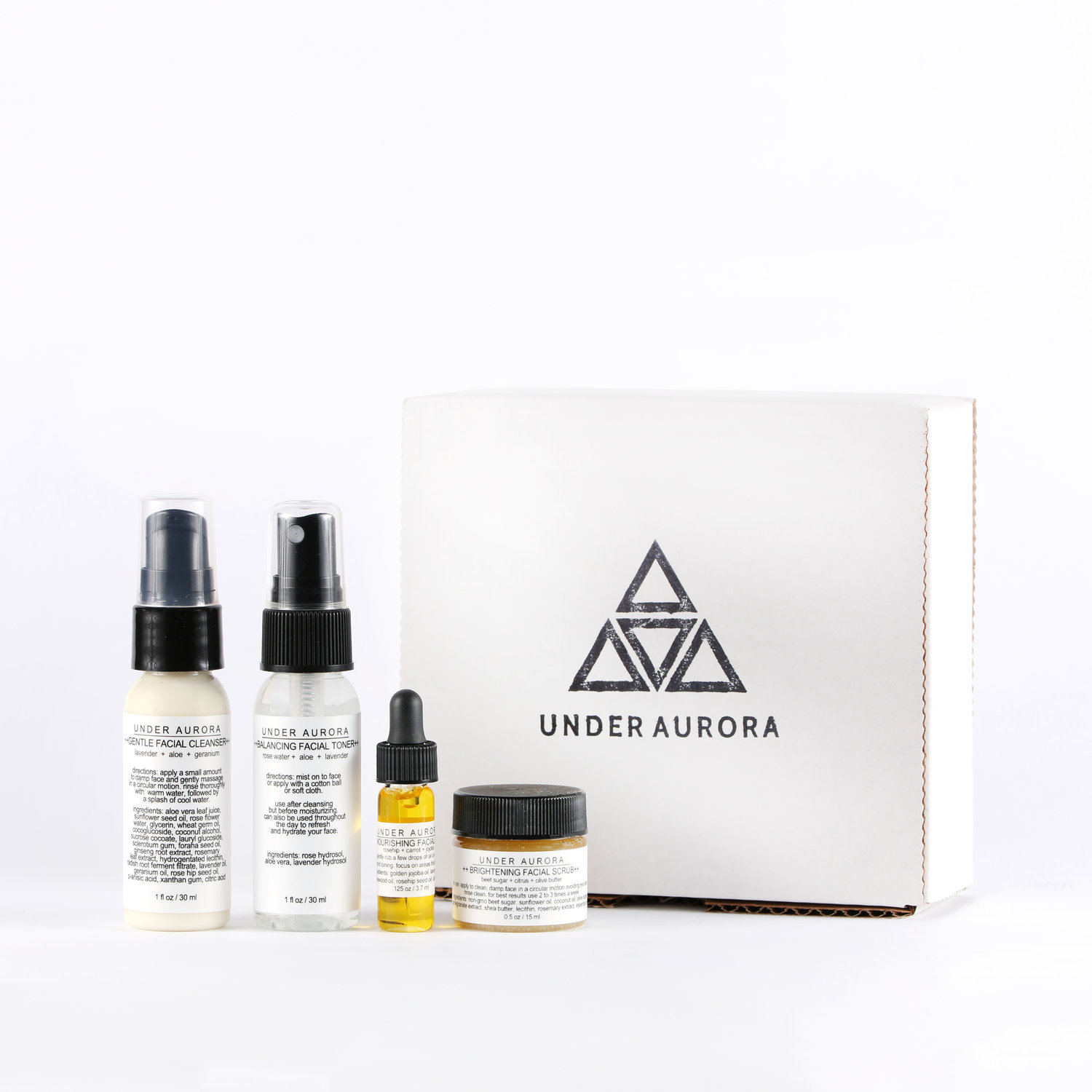 Under Aurora is one of my favorite natural skincare brands these days. I love the nourishing facial oil the best! The  Facial Care Trial Set  is such a lovely gift at a great price.