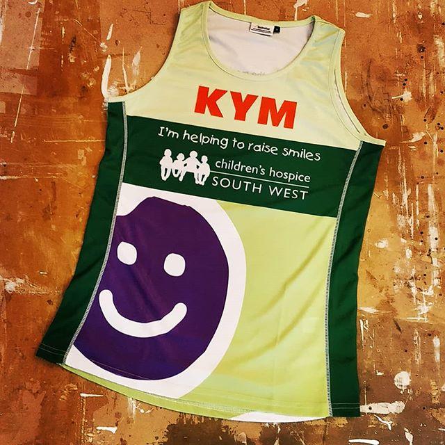 Need some personalisation? We can help! #running #names #halfmarathon #marathon #greatwestrun #exeter #devon #roarclothinguk