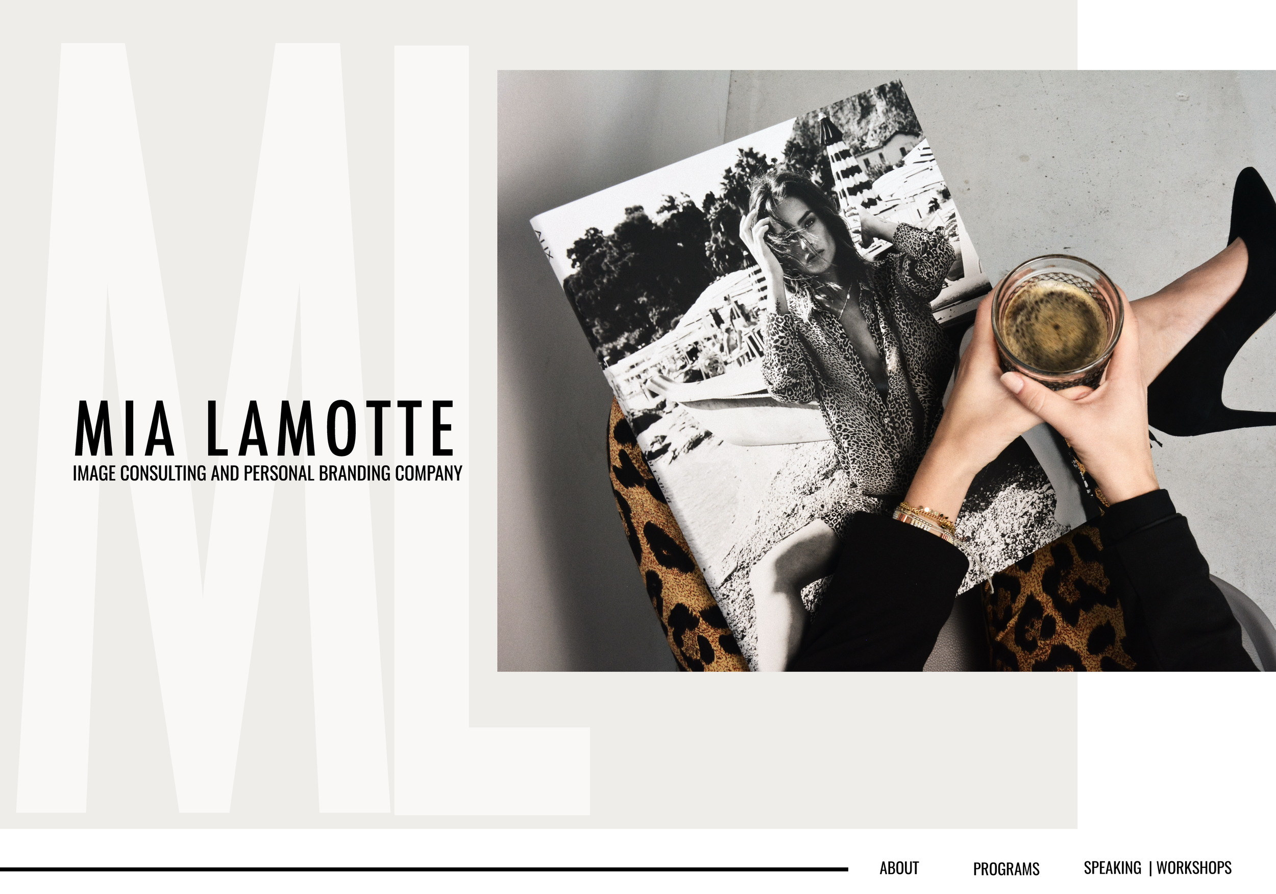 MIA LAMOTTE, IMAGE CONSULTANT + COACH | PERSONAL BRANDING, WEBSITE - COMING SOON!
