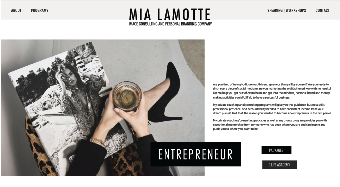 Mia Lamotte - Image Consultant