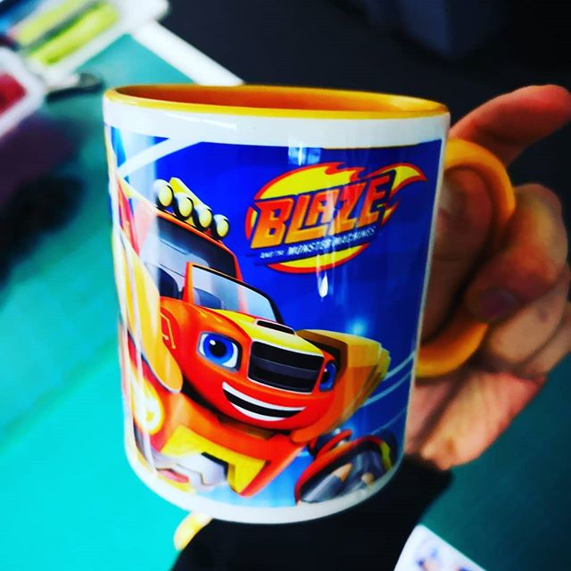 #sublimation #tasse #print #tassendruck #digitaldruck #digitalprint #giveaway #designmediastudio #digitaldruckerei #blaze #kids #cartoon #mug #cooml