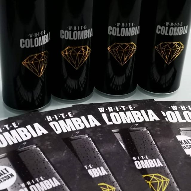 #whitecolombia #drink #cold #flyer Coole Flyer für coole Drinks