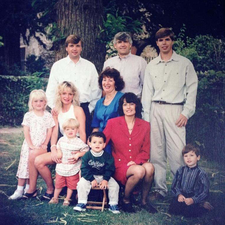 Fuller clan in 1996!