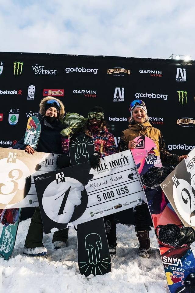 Big ups to the other winners Klaudia Medolva and Anna Gyarmati.