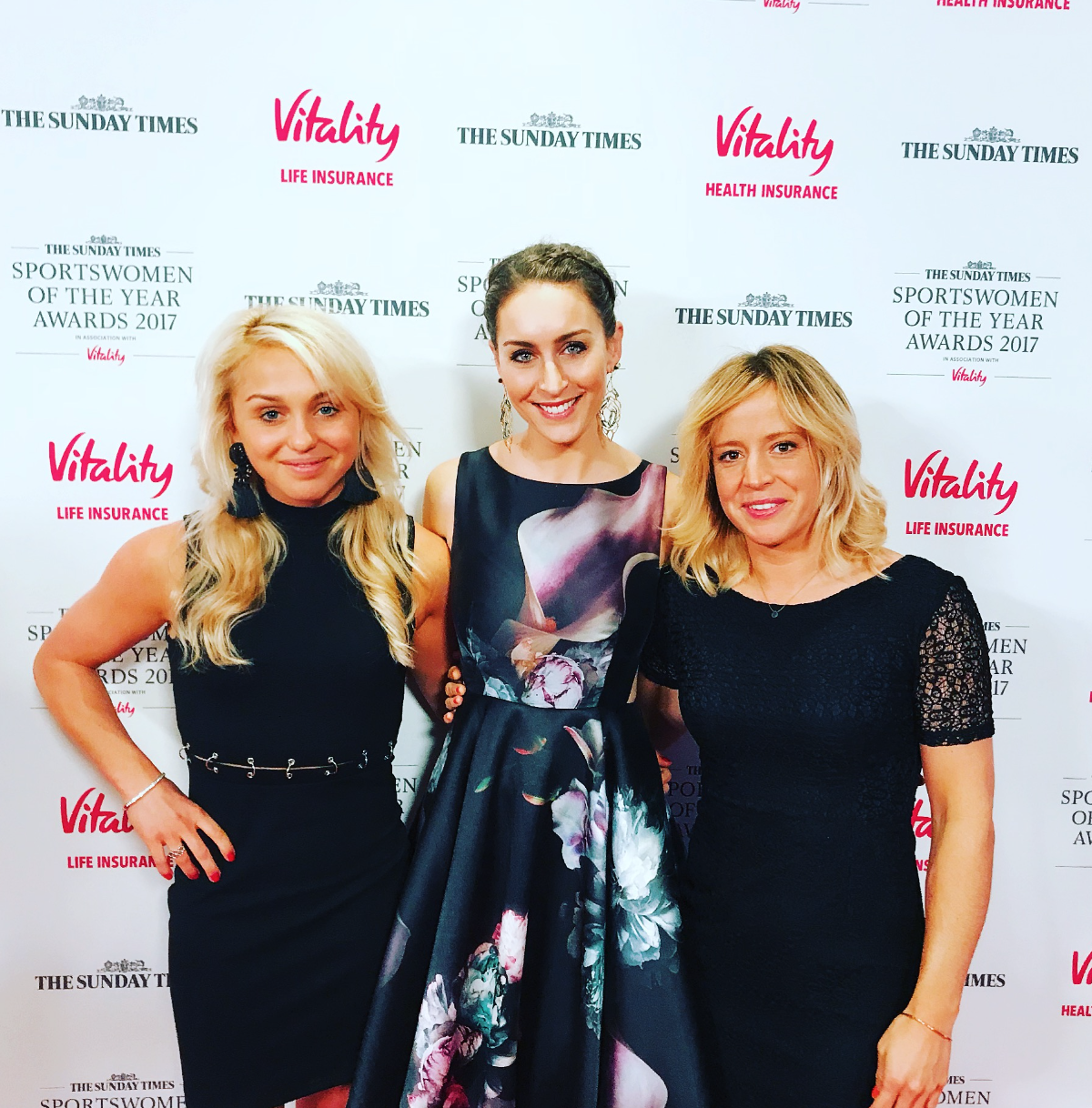 With AMY WILLIAMS, and JENNY JONES at SWOTY 17.