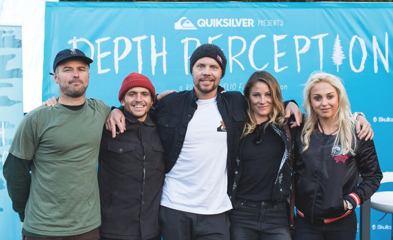 Joined the Depth Perception crew, for the Quiksilver and Roxy signing at the Ski Show. Amazing moving, and big ups to Robin Van Gyn representing for all the females out there with the big boys, Bryan Fox, Austin Sweeten and Travis Rice.