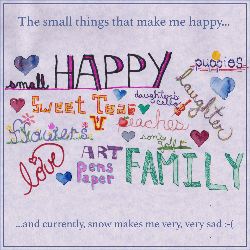 camden leigh listifylife challenge small things that make me happy blog