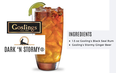 gosling ginger beer #listifylife camden leigh favorite drinks