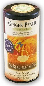 ginger peach tea #listifylife camden leigh favorite drinks