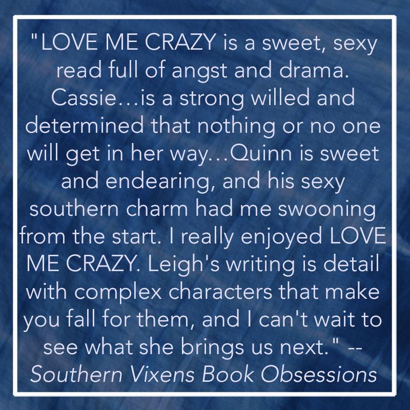 camden leigh contemporary romance author new adult love me crazy