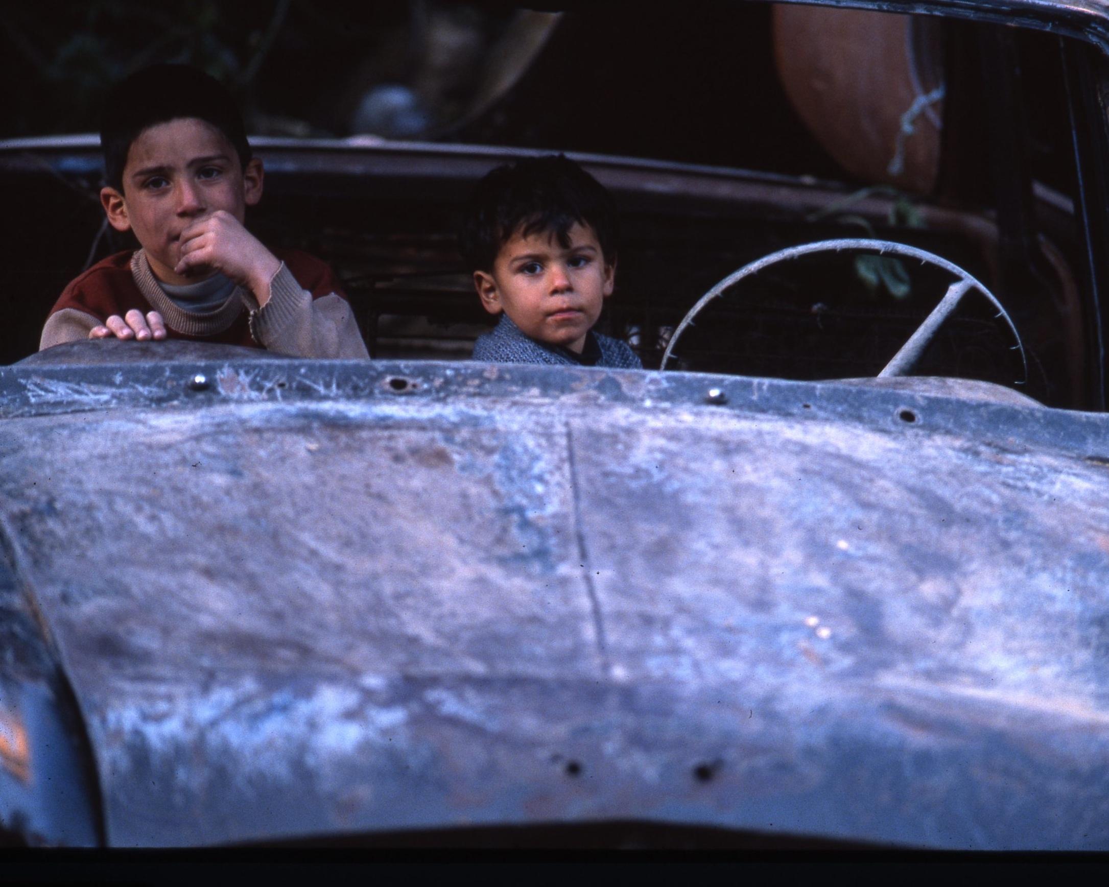 lebanon- boys in car1.jpg