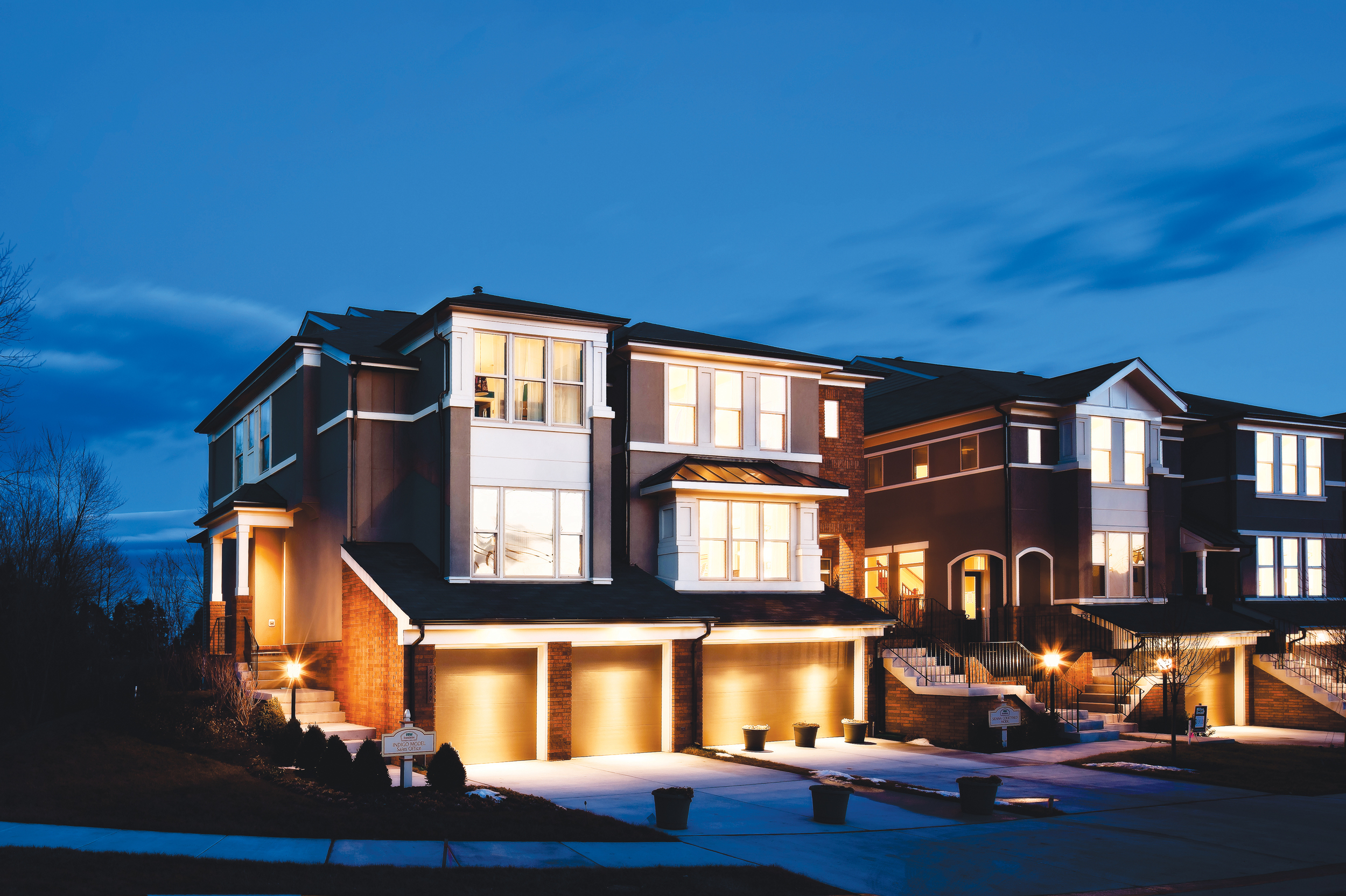 Organic architecture townhome