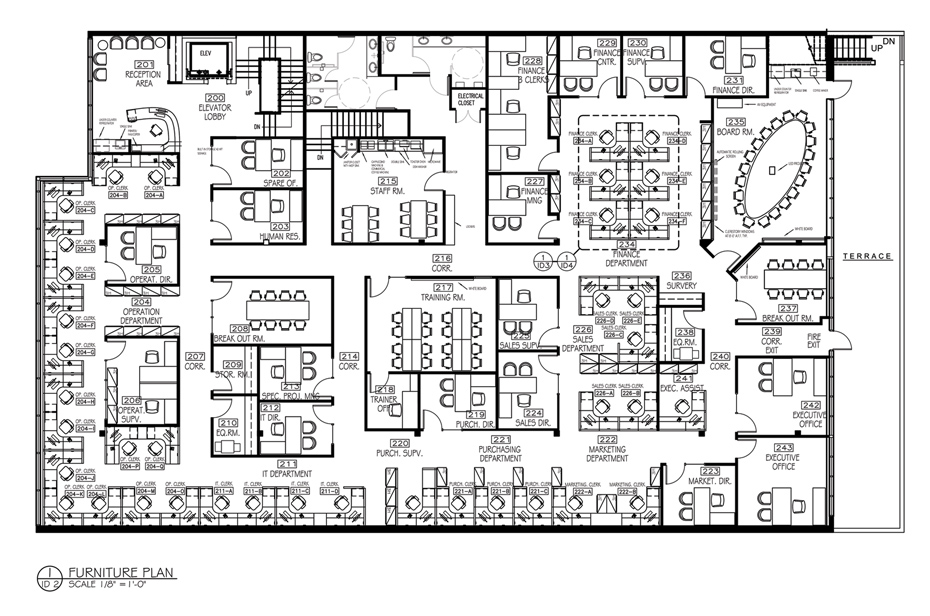Office Space Planning — dna-interiors