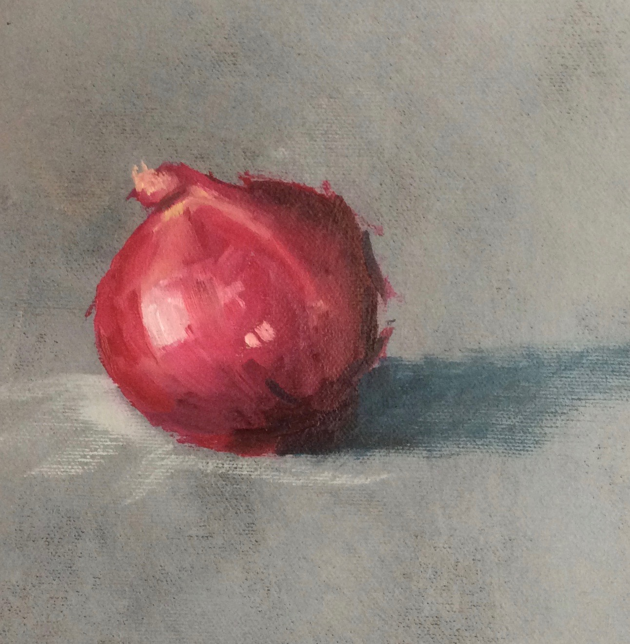 Onion   Oil on canvas