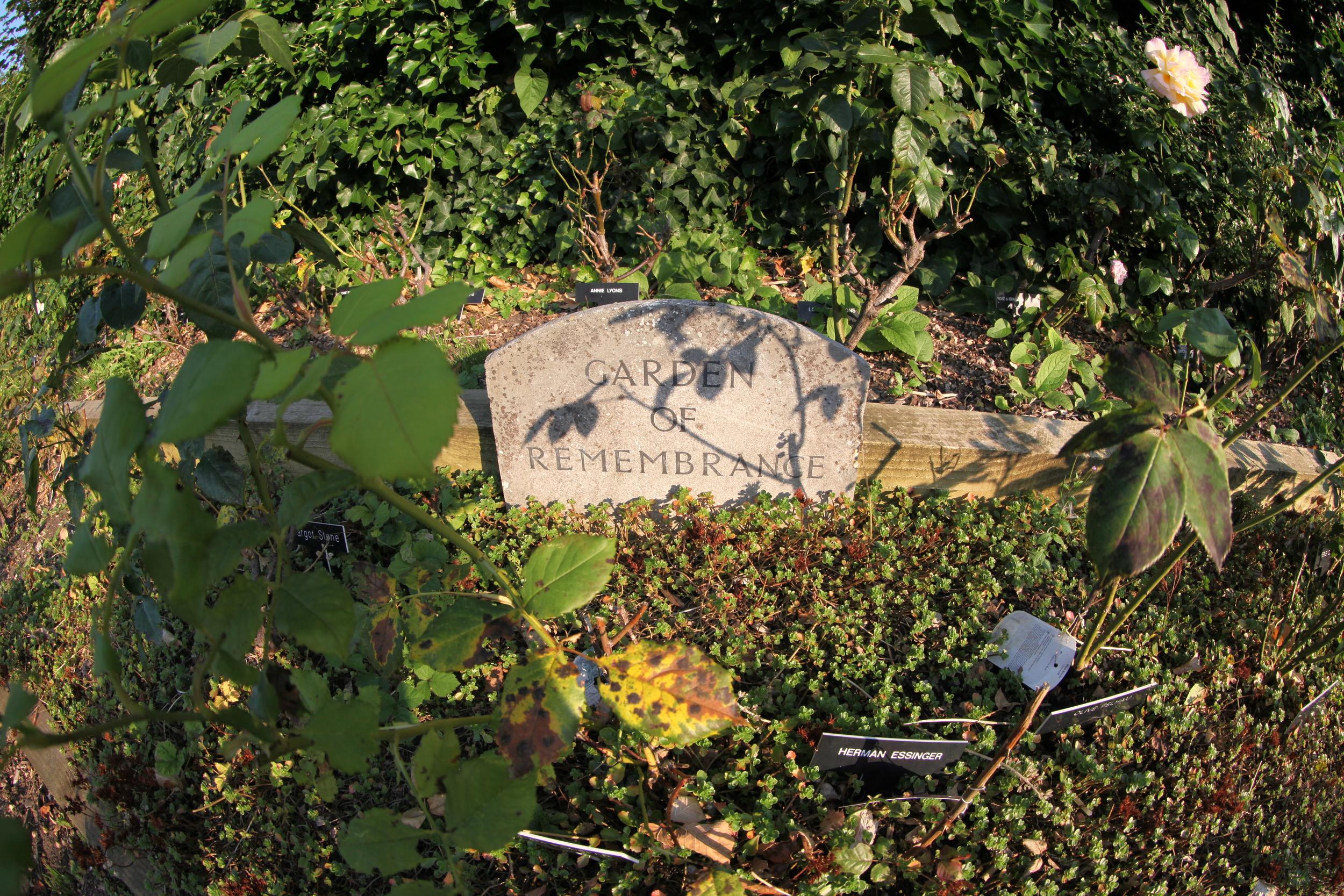 Our Synagogue Memorial Garden