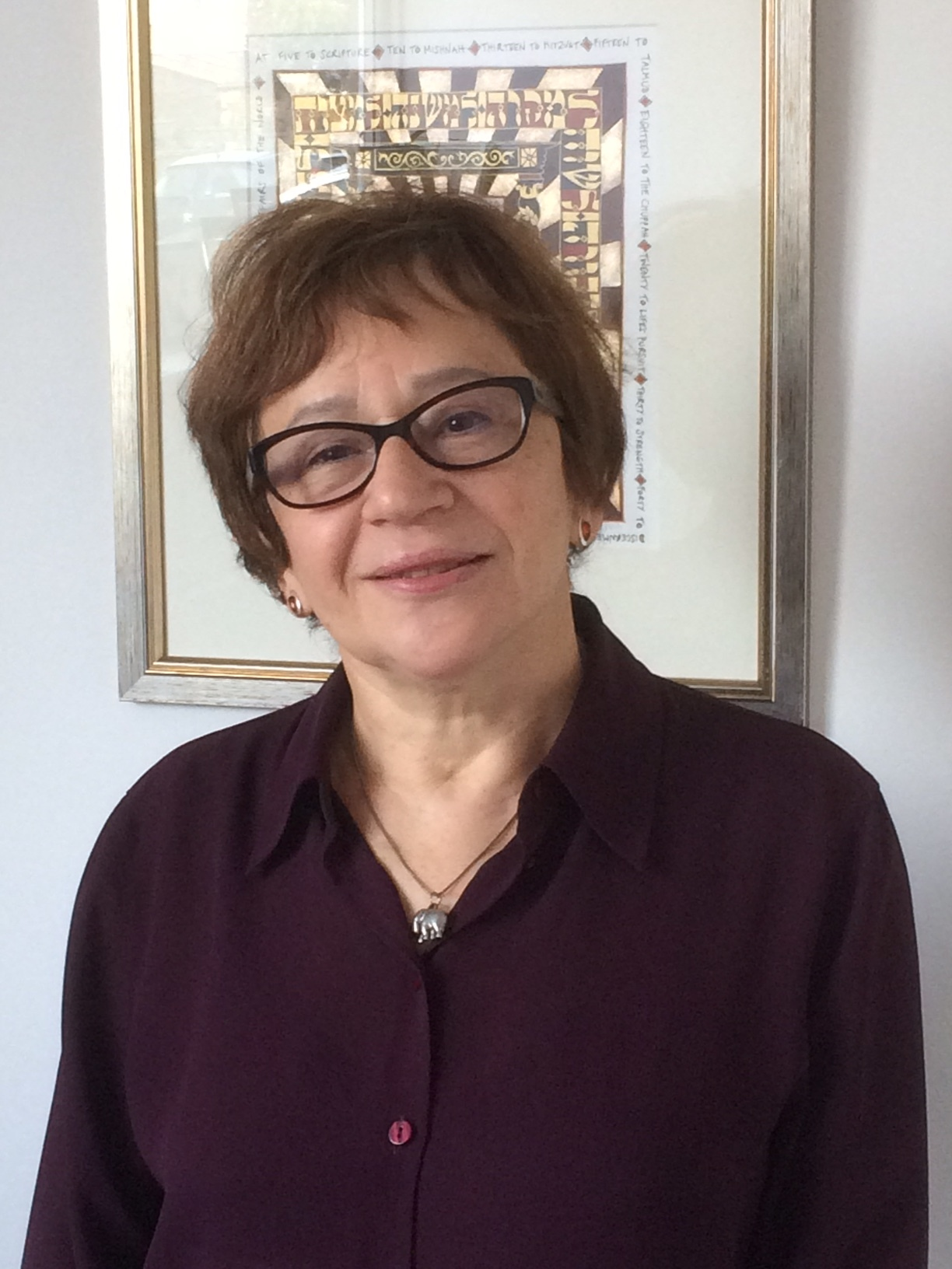 Viktoria (aka Wika)  Dorosz   This is my second 'stint' on Council. I am currently responsible for our twinning with Keshet, the Jewish community in Mogilev (Belarus), the Rosh Chodesh Group and the Library. I also work with Beit Tefillah (Rites and Practices).