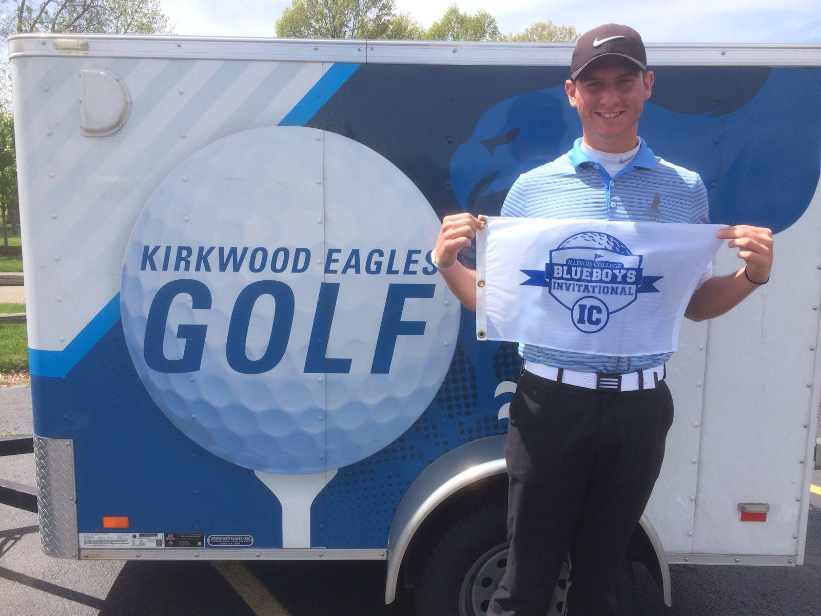 Niall's win at Rail Golf Club, Illinois