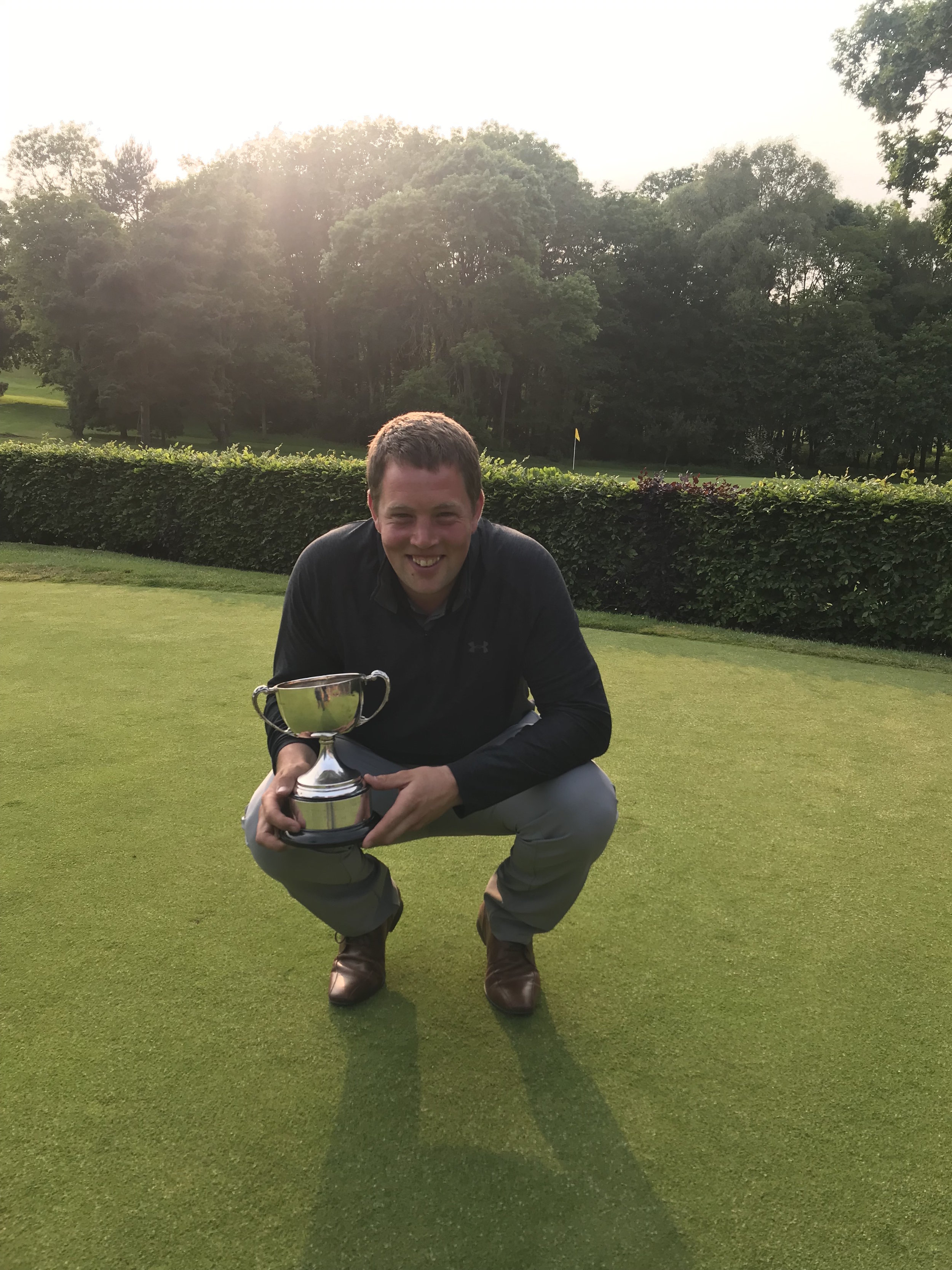 Our 2019 Scratch Cup Champion Tom Workman