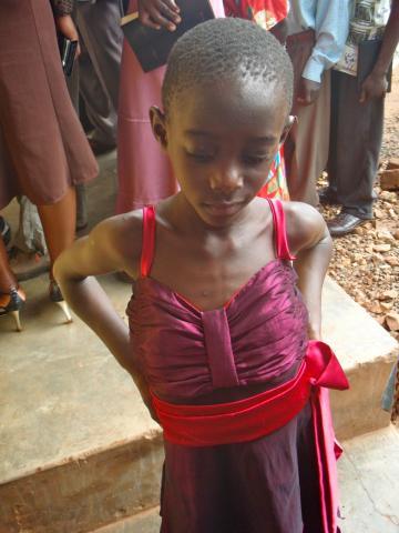 Child in Kasawo, Uganda part 2