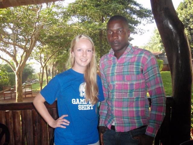 Godfrey Kalungi with Emily Raecker part 1