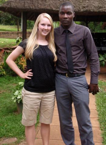 Godfrey Kalungi with Emily Raecker part 2