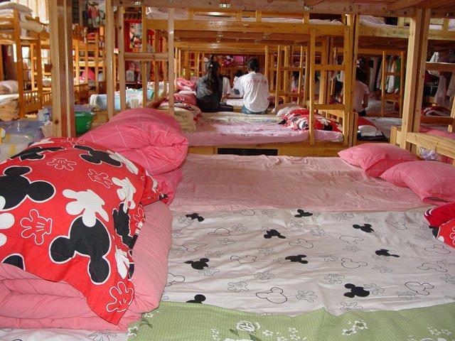 Girl's dorm at Lijiang orphanage