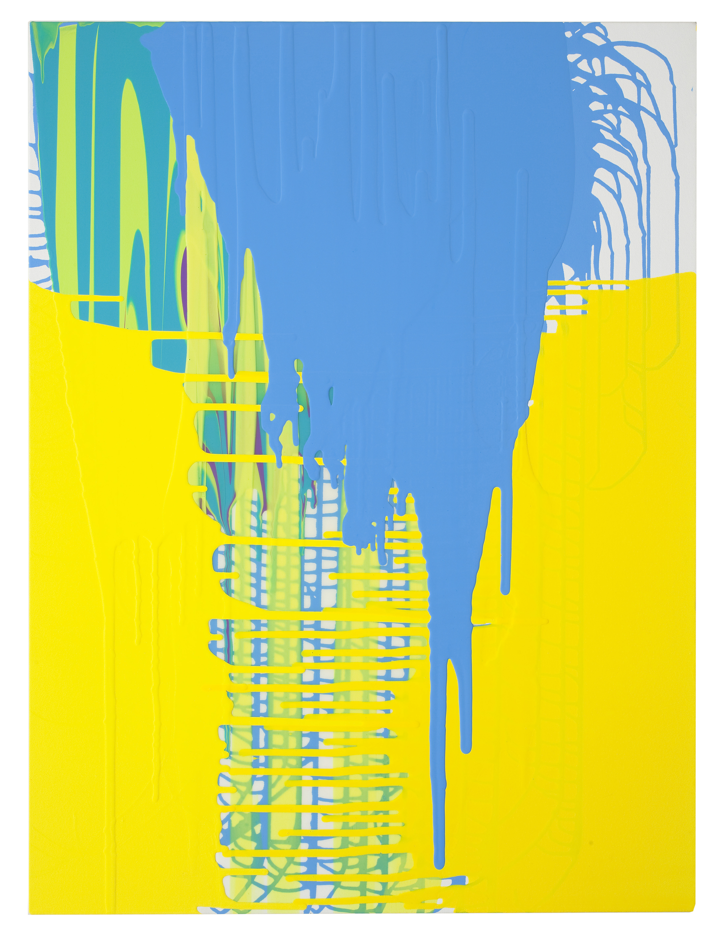 Sunny, 2009 acrylic on canvas 40 inches x 30 inches