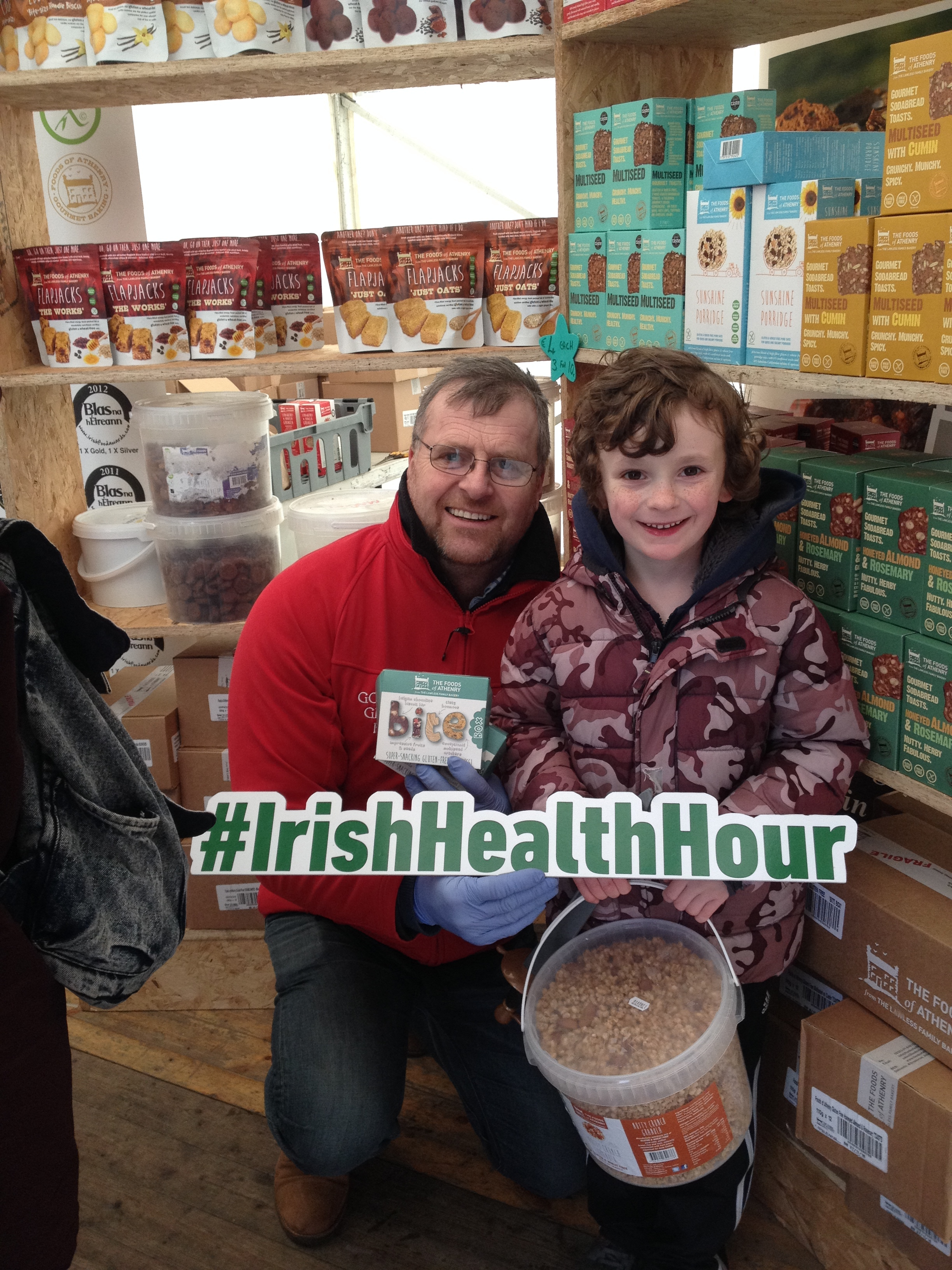 With Foods of Athenry at Galway Food Festival
