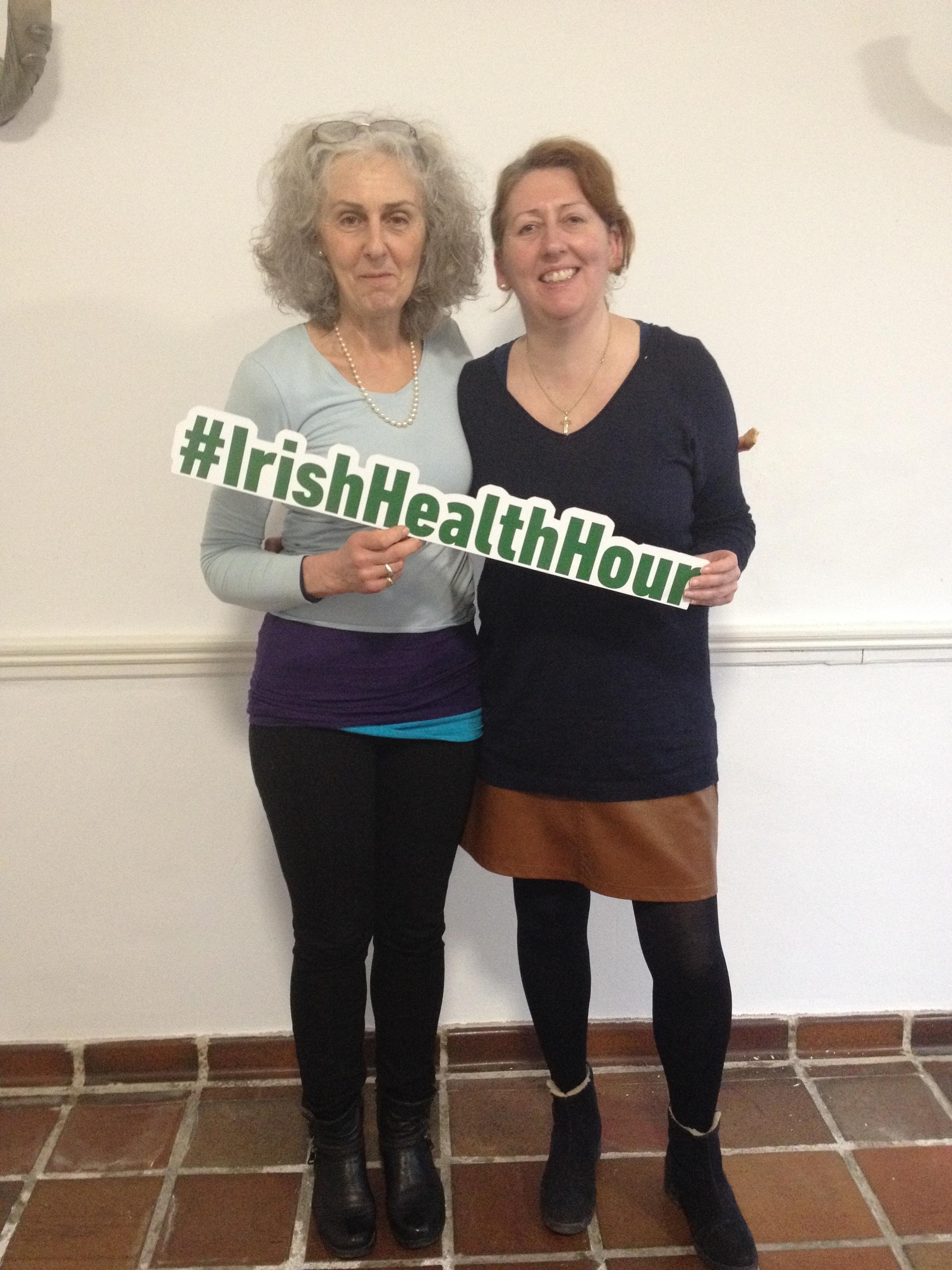 IrishHealthHour meets Buddy Bench Ireland in Kilkenny
