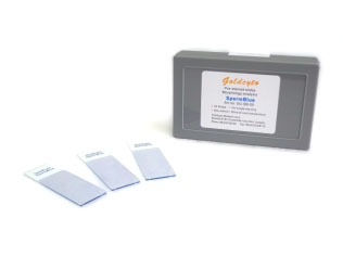 Sperm Blue Prestain Slides / GC-SB-50