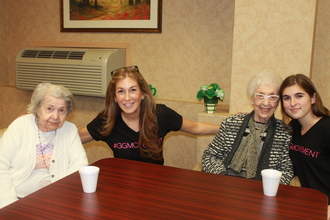 All Smiles at this GG Chapter's First Makeover!