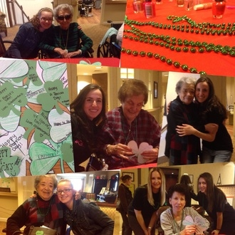 Smithtown High School GlamourGals Chapter enjoys Saint Patrick's Day